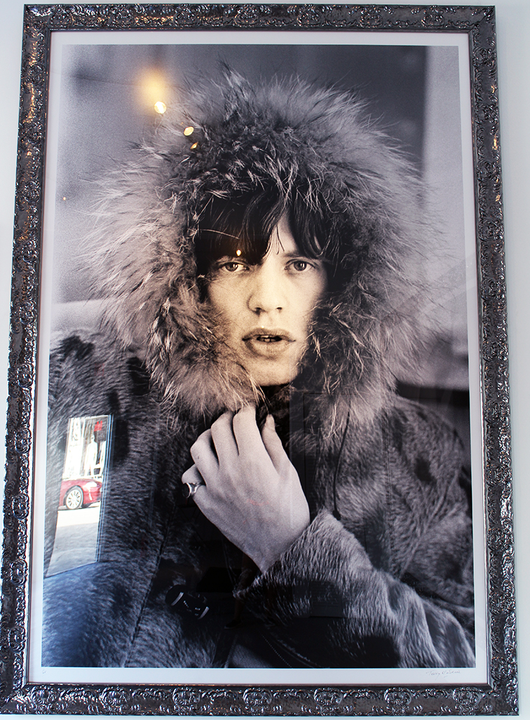 Mick Jagger by Terry O'neill photography at Art Basel, MBAB 2014