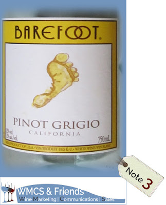 Barefoot Pinot Grigio Kalifornien