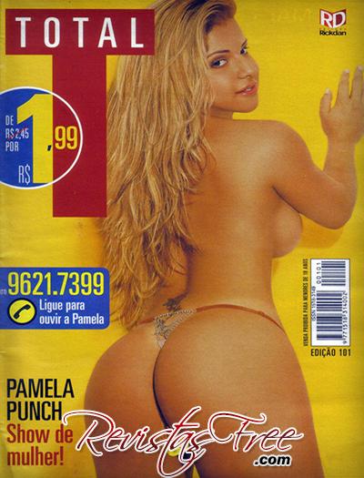 Pamela Punch - Revista Total - Dezembro 2008