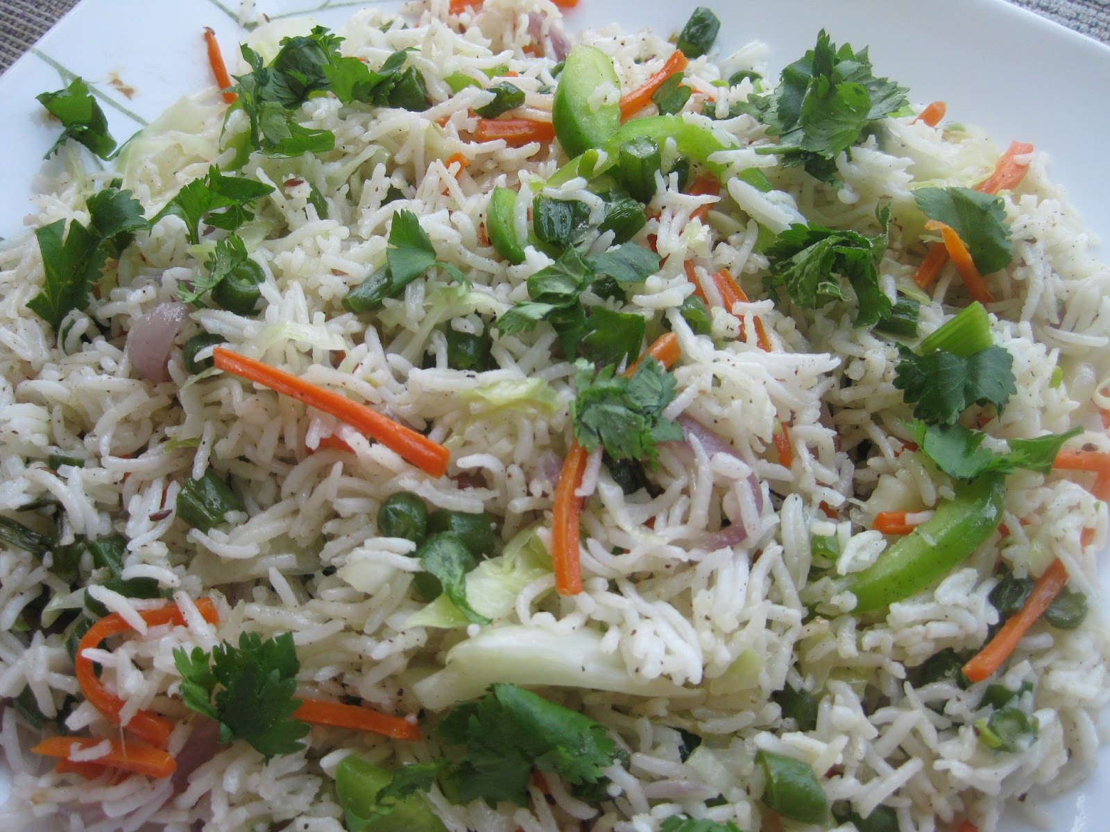 Vegetable Fried Rice - Recipe for south-indian vegetable fried rice ...