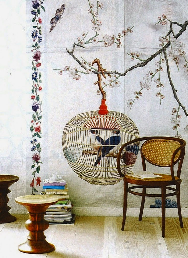 Heteruf designs decoraci n oriental estilo chinoiserie for Decoracion estilo oriental