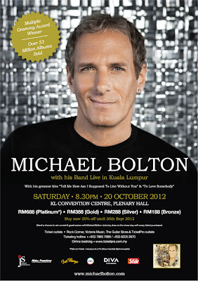 Michael Bolton KL Convention Centre