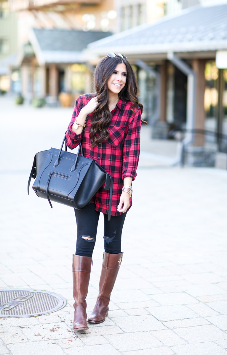 fall musthave oversized plaid the sweetest thing