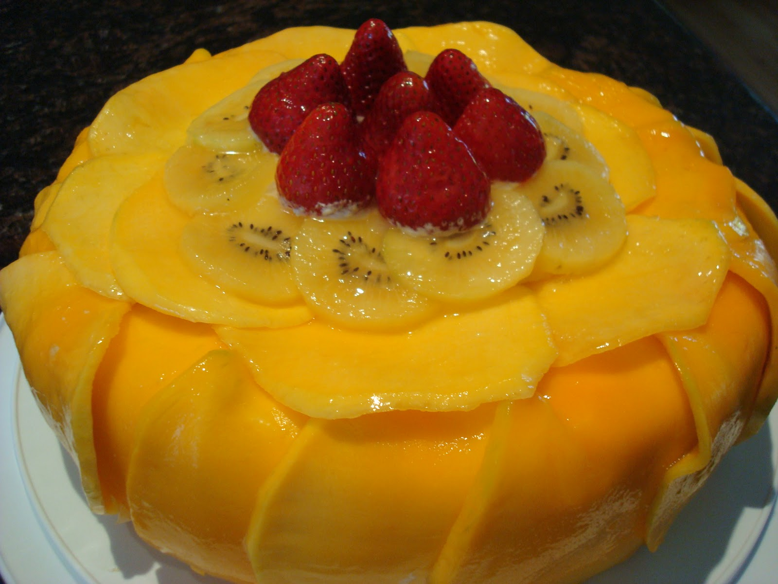 Images For Mango Cake : Mango Cake Recipe ~ Easy Dessert Recipes