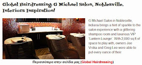 G Michael Salon, Noblesville. Interiors Inspiration!