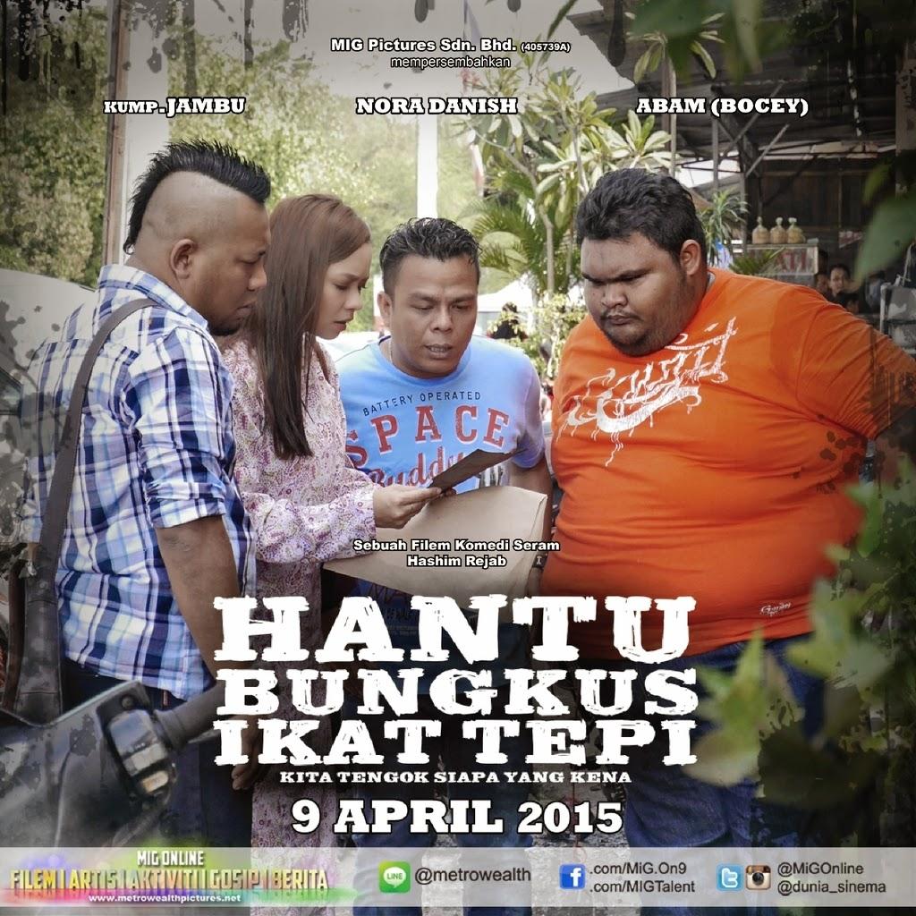 Poster Hantu Bungkus Ikat Tepi