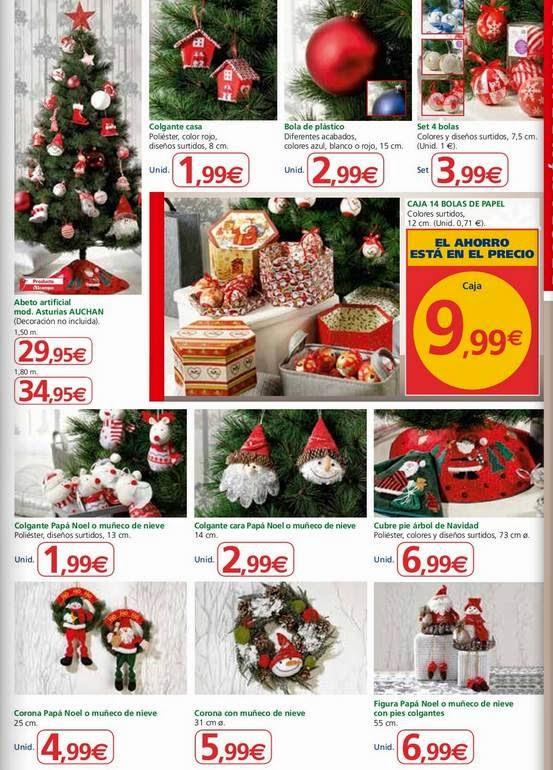decoración de navidad alcampo al 7-12-14