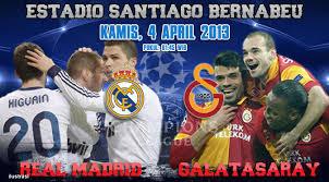 Prediksi Pertandingan Real Madrid vs Galatasaray 4 April 2013