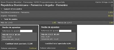 Apuestas Deportivas Rosberg Voleibol Femenino – Grand Prix Republica Dominicana Argelia Bet365 bono