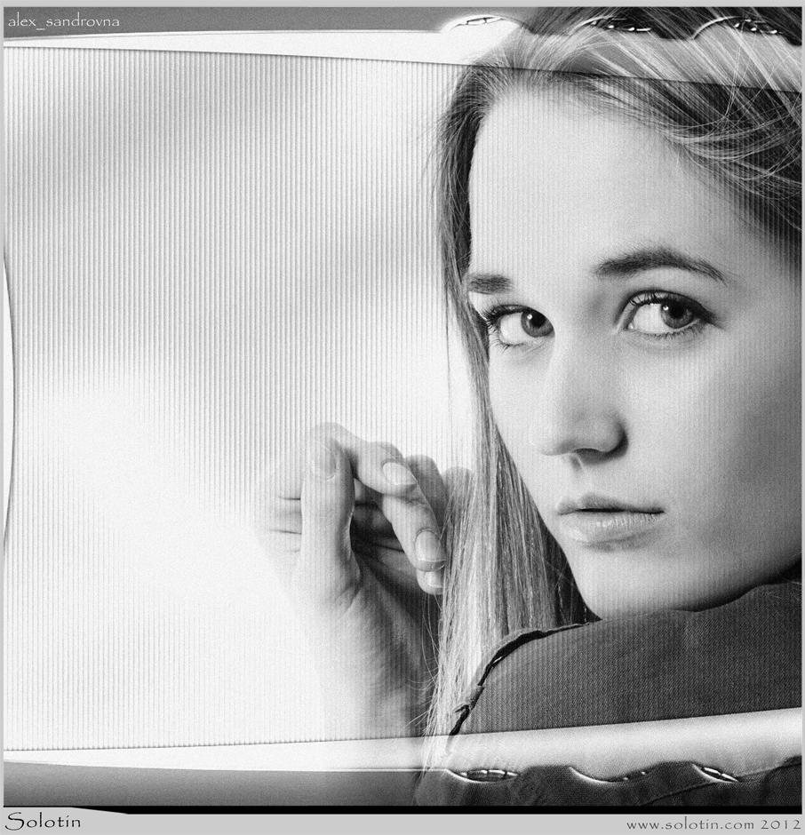 девушка, модель, Александра Батурова