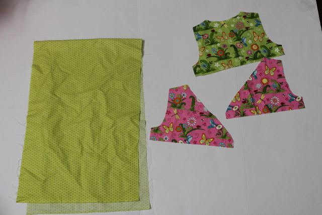 cut out the pattern pieces