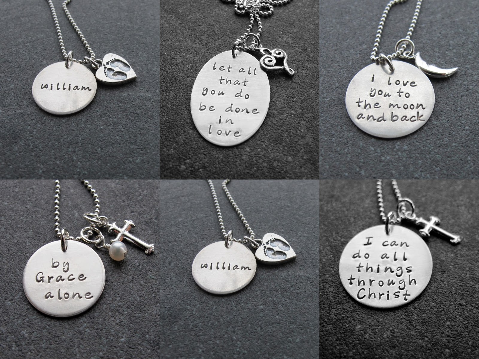 La dolce vita mother 39 s day gift ideas hand stamped for How to make hand stamped jewelry
