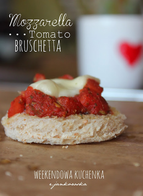Hot breakfast for cold mornings - Bruschetta