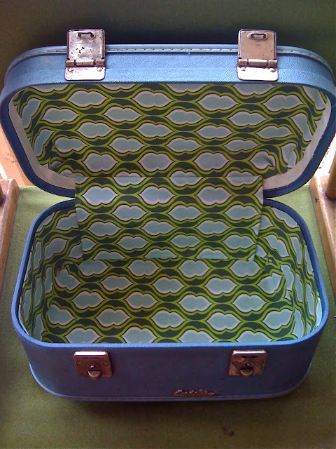 upcycled train case