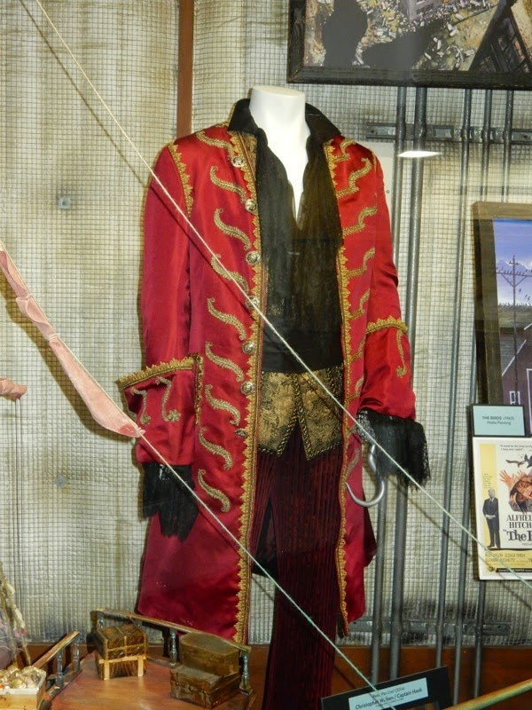 Christopher Walken Captain Hook pirate costume Peter Pan