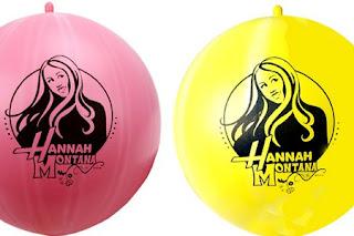 Decoración de Fiestas Infantiles: Hannah Montana