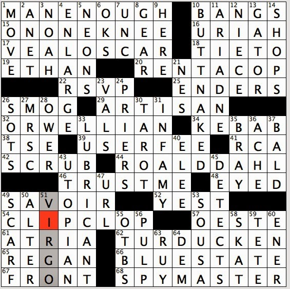 Rex parker does the nyt crossword puzzle joanie 39 s mom to for Century plant crossword clue