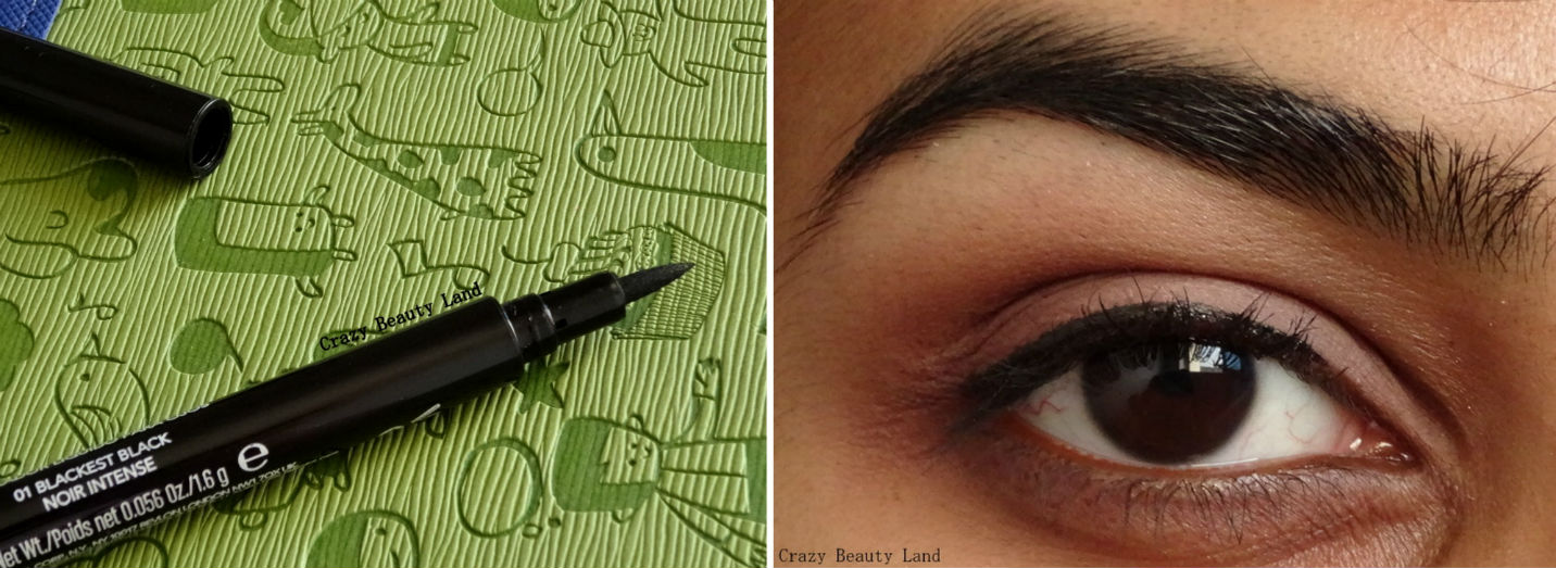 Revlon Colorstay Liquid Eye Liner Pen Review Swatch EOTD Price in India