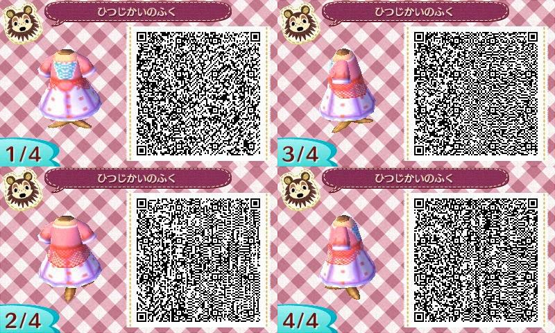【どうぶつの森】ディズニープリンセスのドレス QRコード一覧 可愛いお姫様の服♪【\u2026