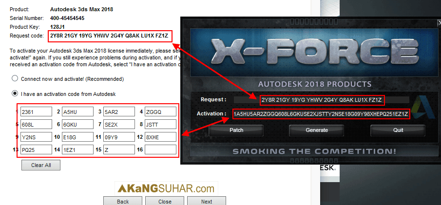 x force keygen for all autodesk products 2018