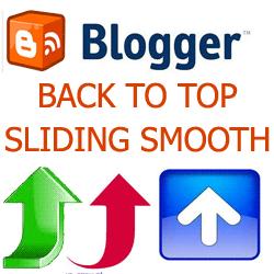 Cara Membuat Widget Back To Top di Blog