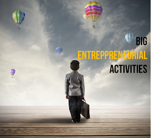 next big entrepreneurial activities are right now?