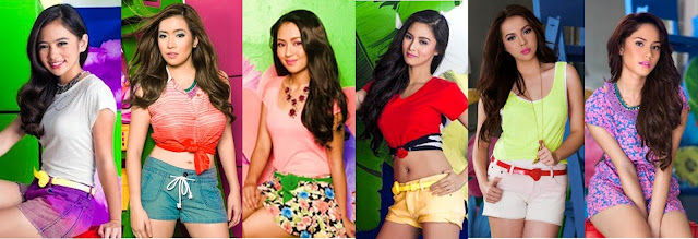Kapamilya leading ladies Ella Cruz, ANgeline Quinto, Kathryn Bernardo, Kim Chiu, Julia Montes and Jessy mendiola for Bench Summer 2013 campaign