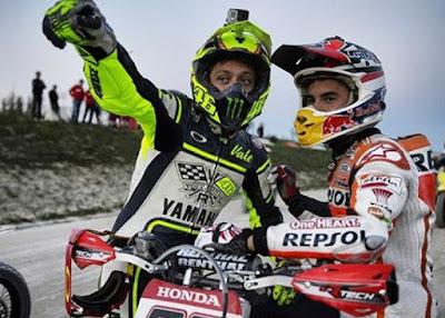 Siapa Sosok yang Rencanakan Pertemuan Rossi-Marquez di Andorra