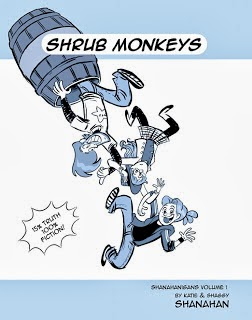 SHRUB MONKEYS the book!