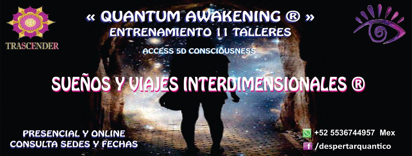 TALLER SUEÑOS Y VIAJES INTERDIMENSIONALES