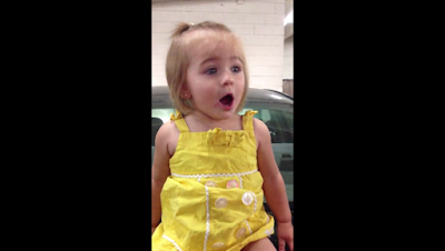 bebé sorpresa auto alarma