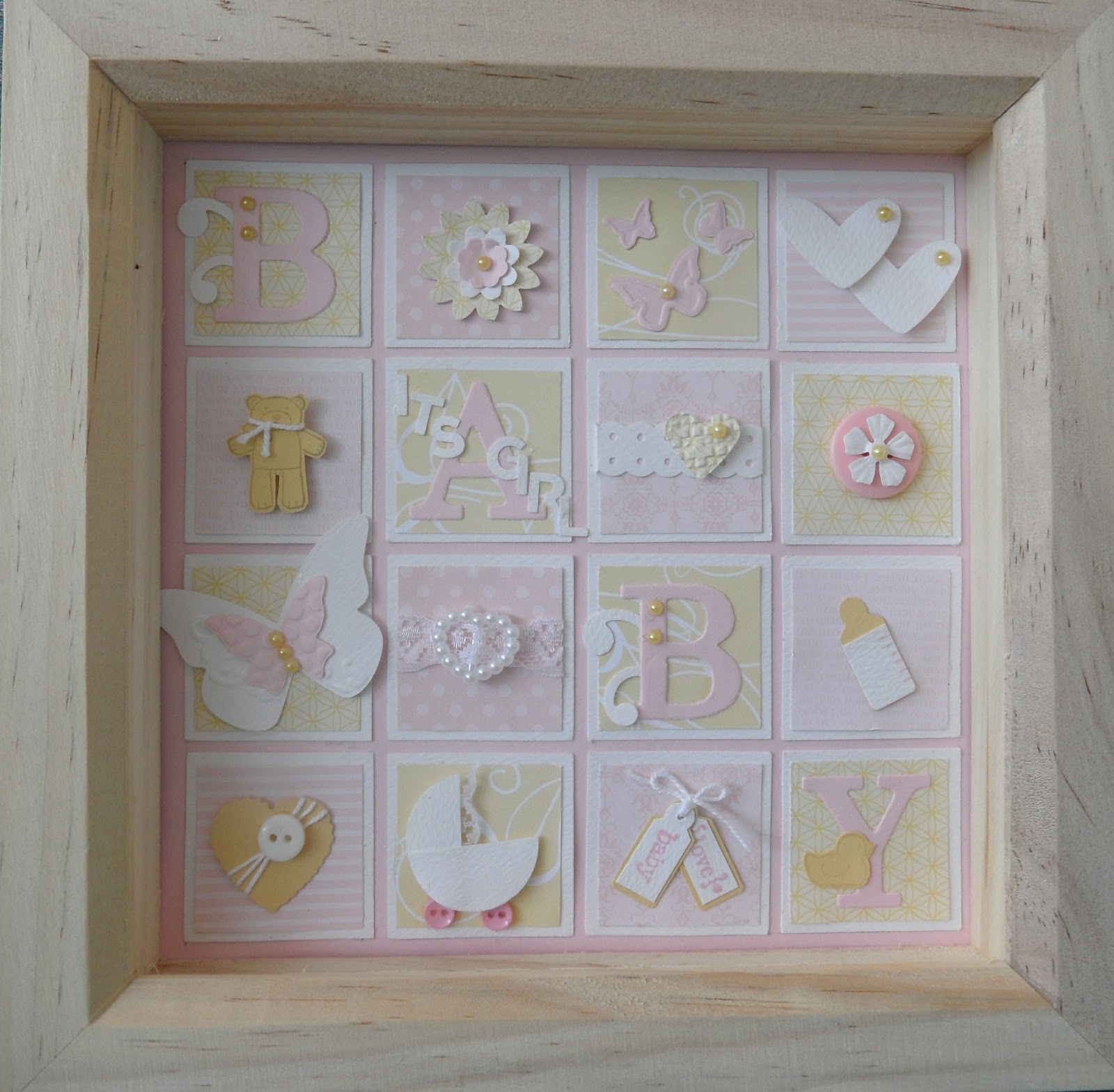 Lindas craft room 3d boxed framed project lindas craft room jeuxipadfo Choice Image