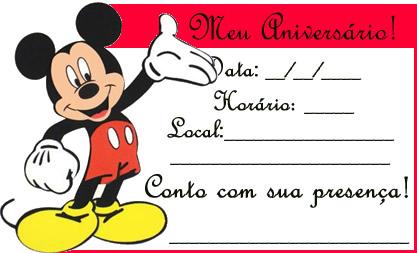 Moldes Mickey para imprimir - Imagui