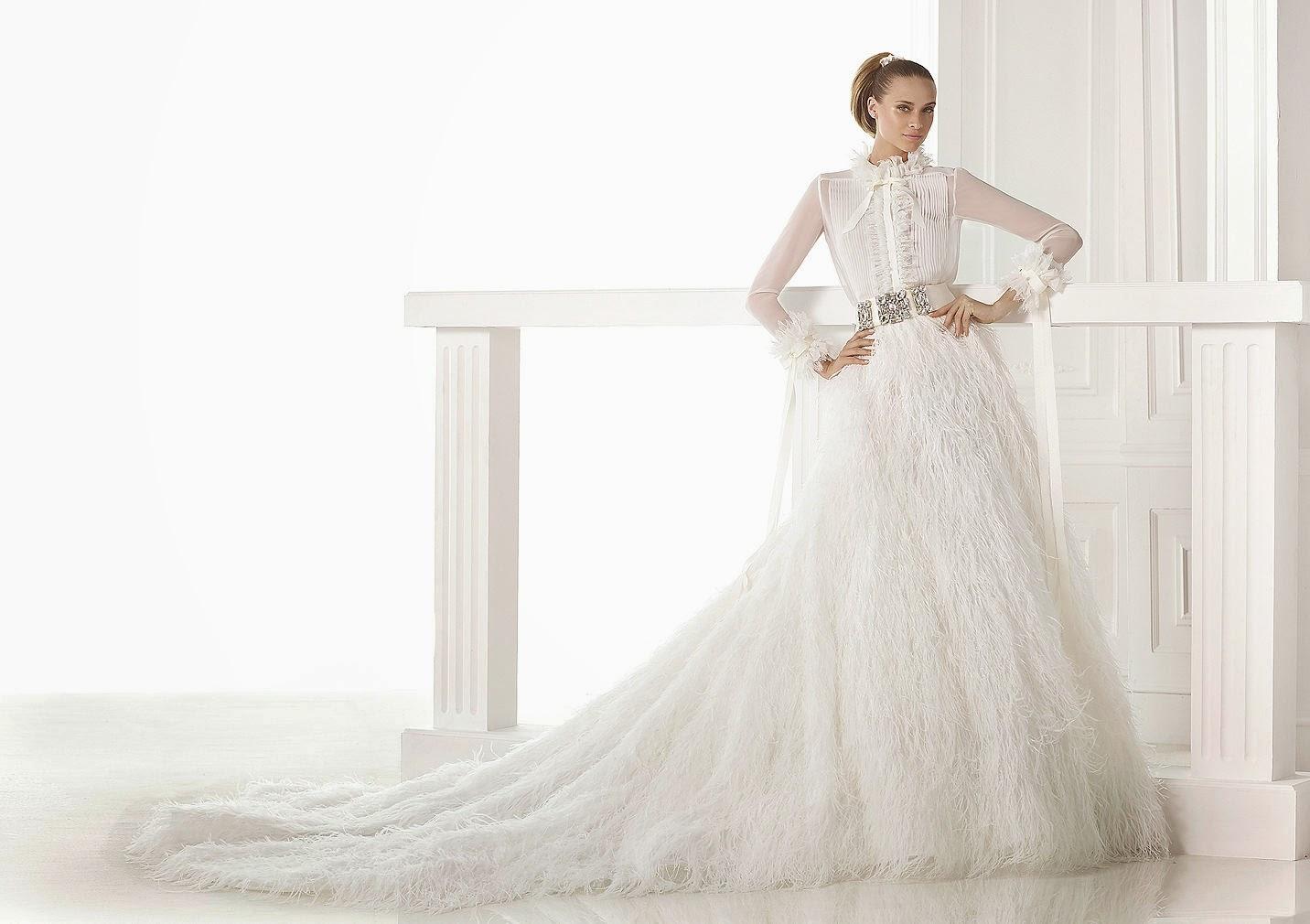 vestido de novia pronovias