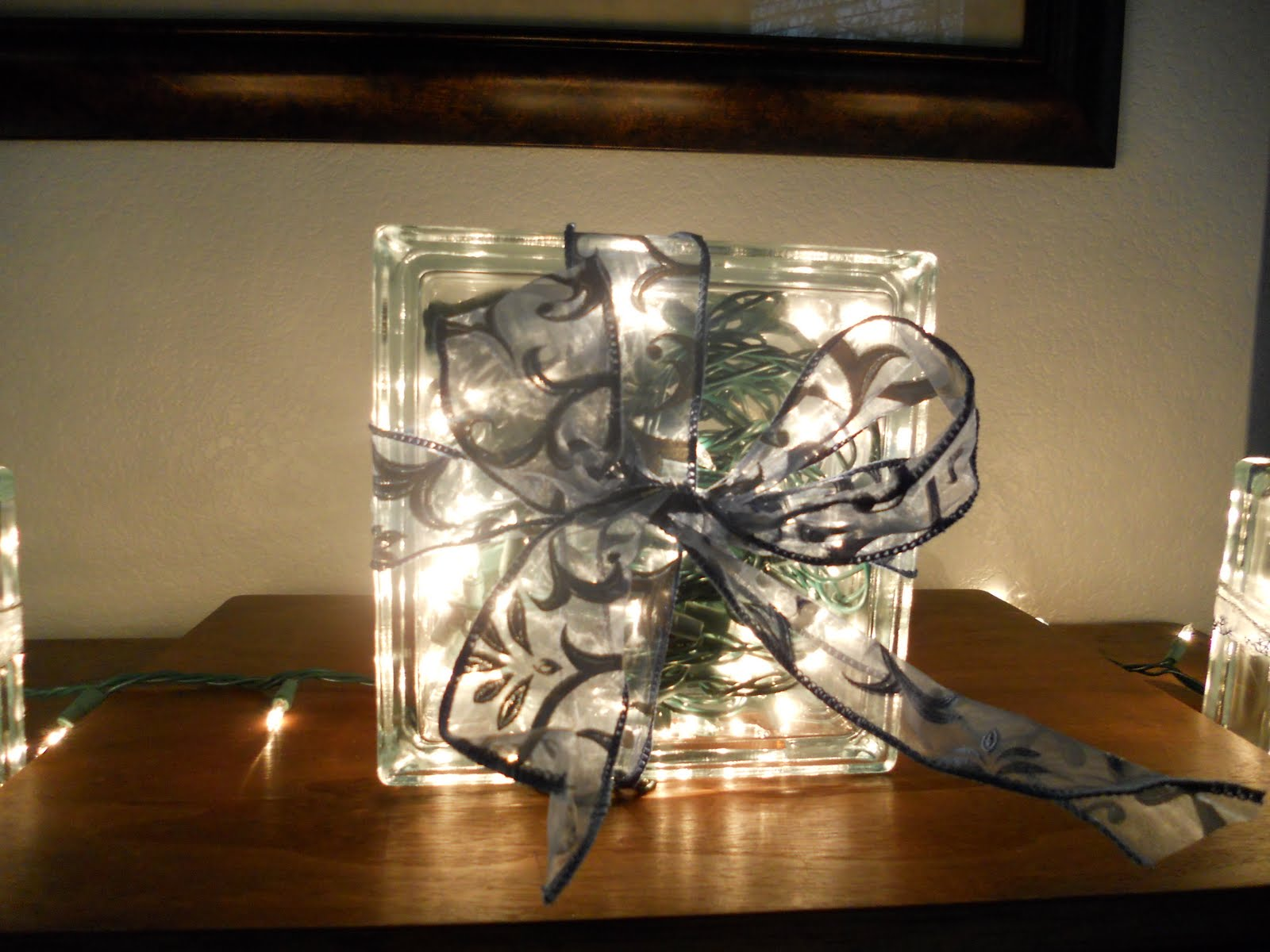 Craft critters glass block christmas gifts for Glass block for crafts
