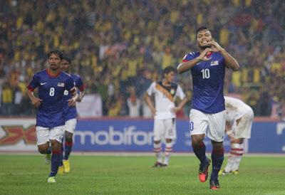 Malaysia vs Laos 4-1 Piala AFF Suzuki 2012