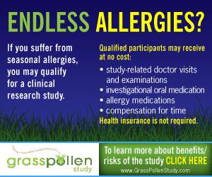 Free Allergy Medications for 2012 Allergy Season