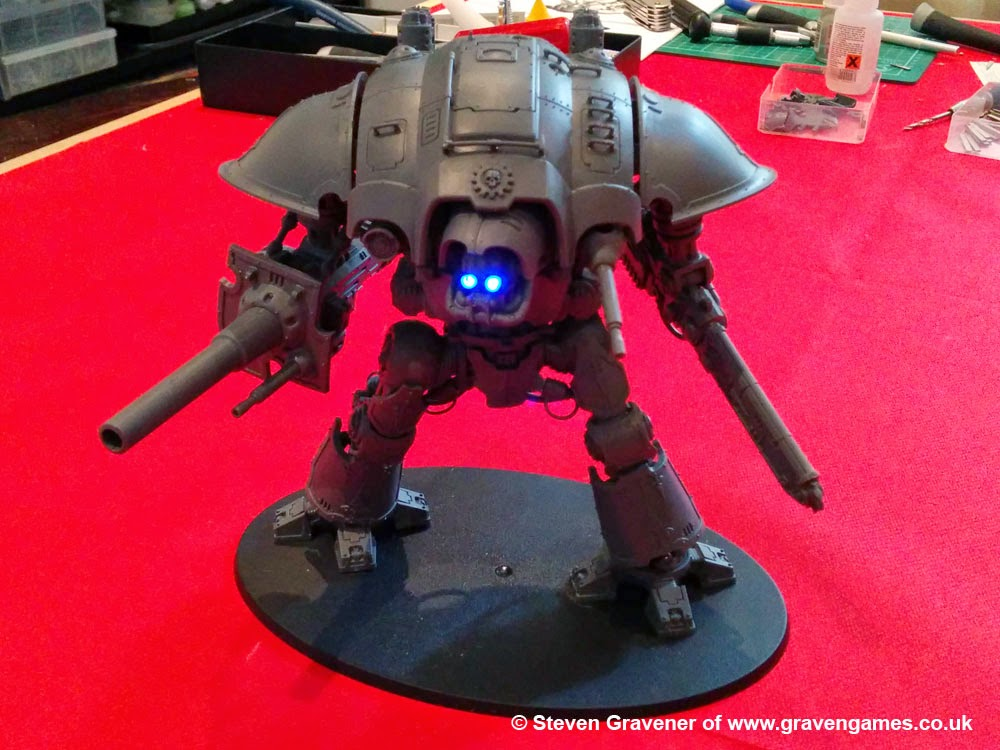 Warhammer 40k Imperial Knight lighting kit