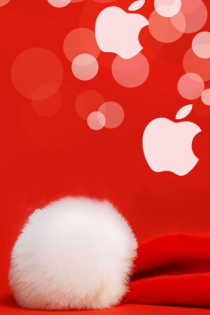Christmas Apple iPhone Wallpaper By TipTechNews.com