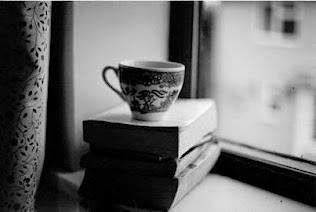 Café y libros... imposible resistirse...