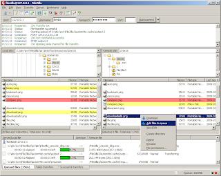 FileZilla 3.5.3