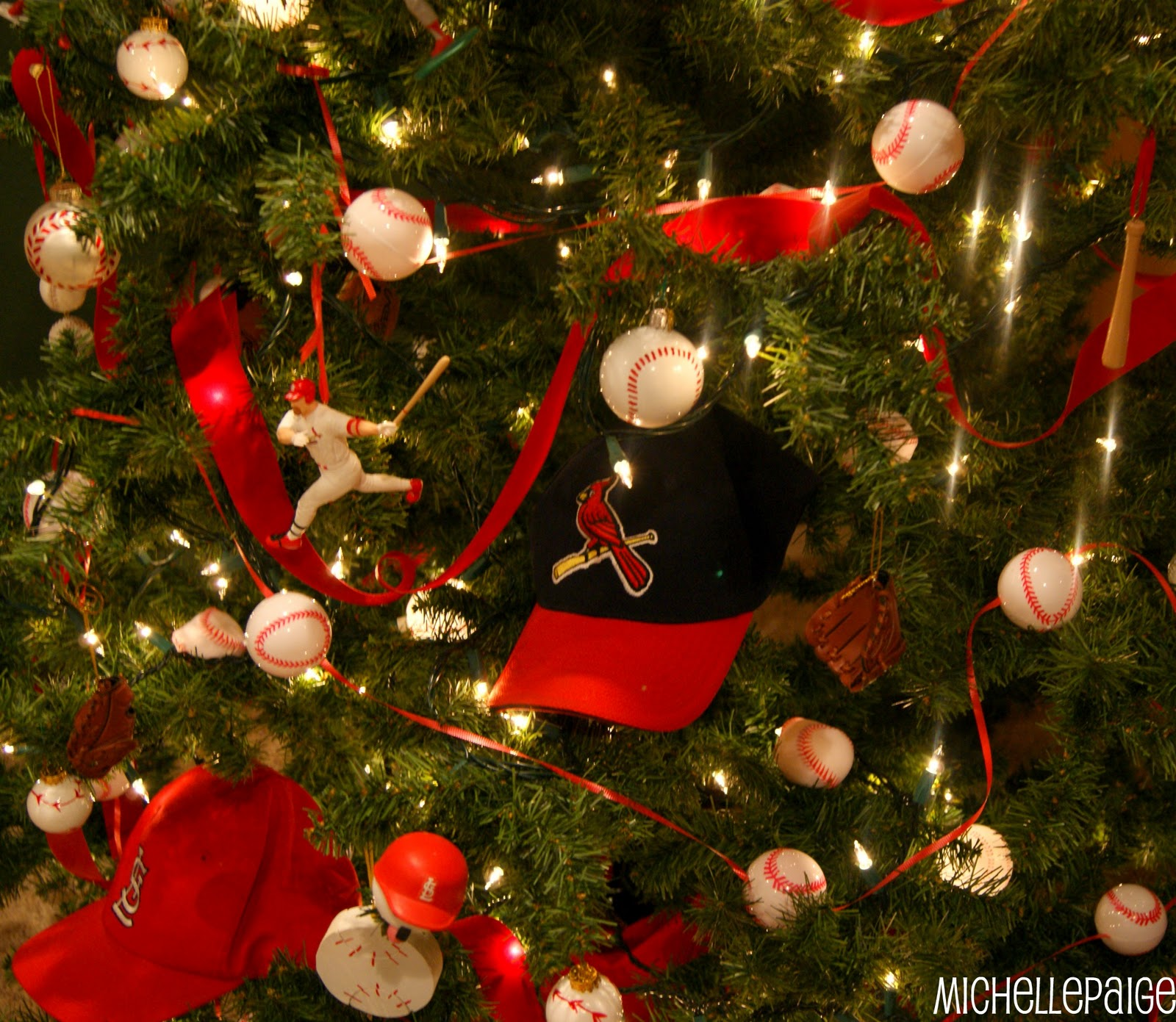St. Louis Cardinals Baseball Tree
