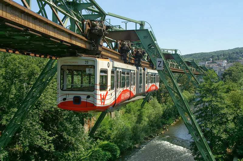 Schwebebahn Wuppertal Suspension Railway | The World's Oldest Monorail