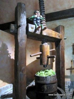 Lagar Museo Vino Villa Lucia, Rioja Alavesa