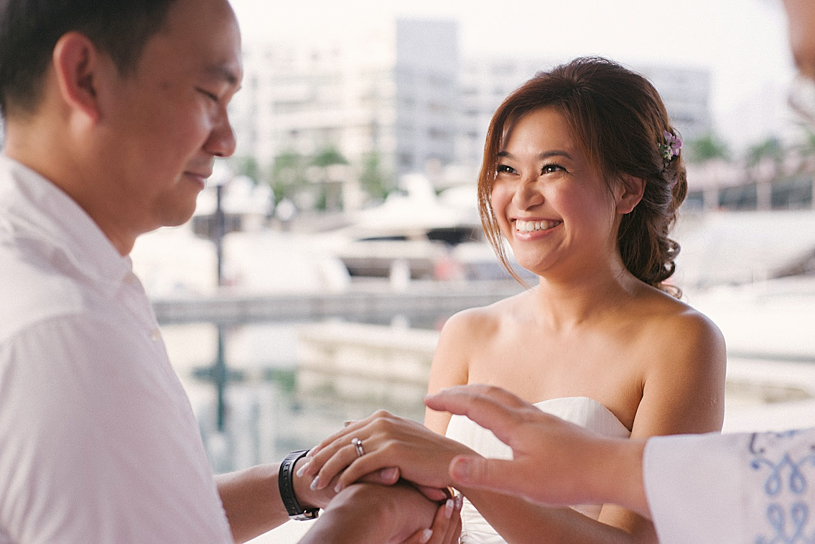 wedding photography singapore yacht 01