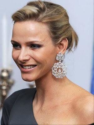 Charlene Wittstock Diamond Chandelier Earrings