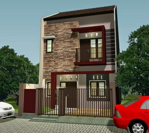 Desain Rumah Minimalis 2 Lantai Type 36/60
