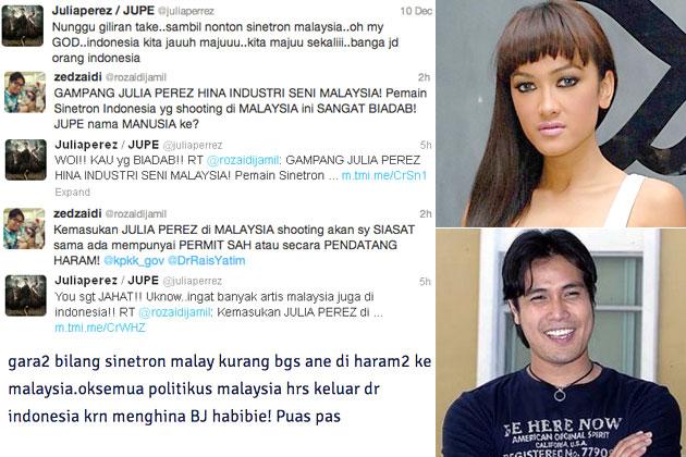 Julia Perez Kutuk Drama Malaysia,Cari Publisiti Murahan?