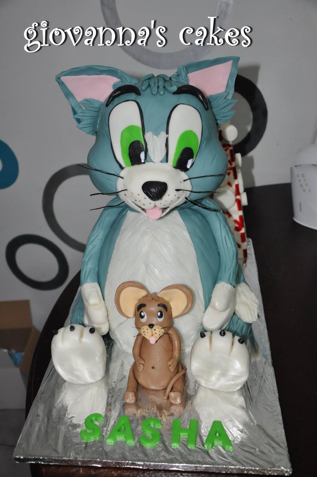 giovannas cakes Tom Jerry look alike cake