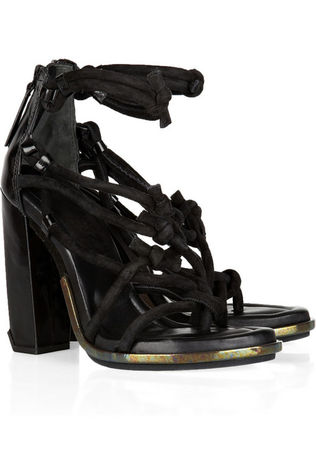 Alexander Wang Tempest Knotted leather sandal